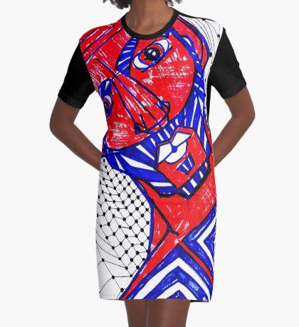 BAANTAL / Hominis / Faces #13 Graphic T-Shirt Dress