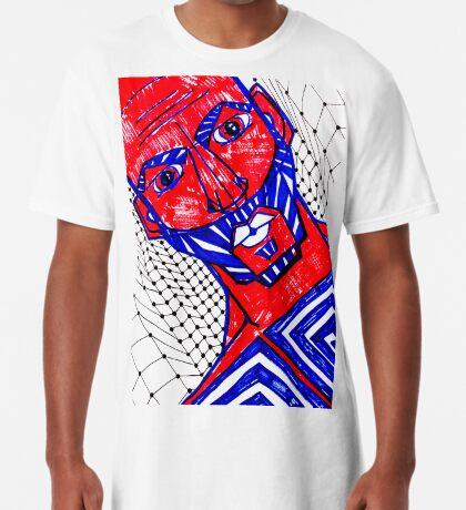 BAANTAL / Hominis / Faces #13 Long T-Shirt