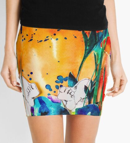 BAANTAL / Pollinate / Evolution #9 Mini Skirt