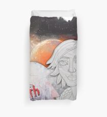 At the Border of Dreams - Lilith from Borderlands (by ACCI) Duvet Cover