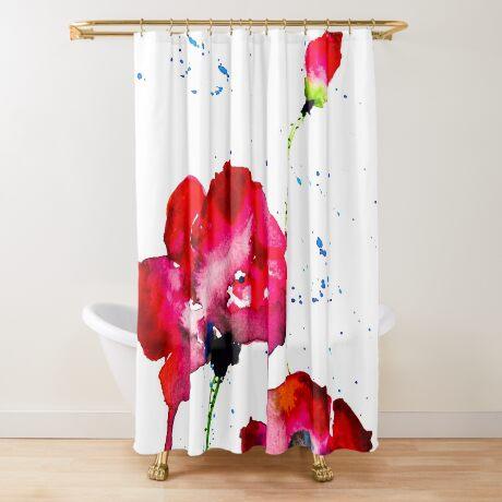 BAANTAL / Pollinate / Evolution #12 Shower Curtain