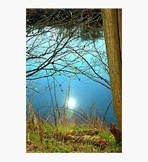 An aqua sky Photographic Print