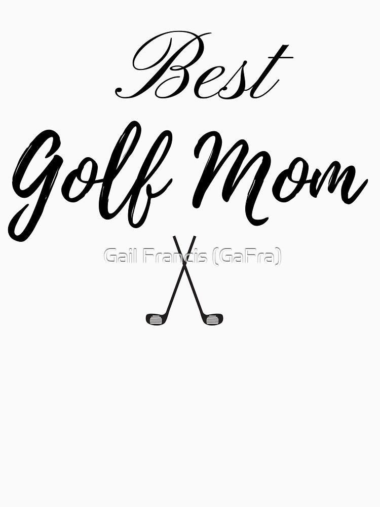 Best Golf Mom by TriniArtStudio