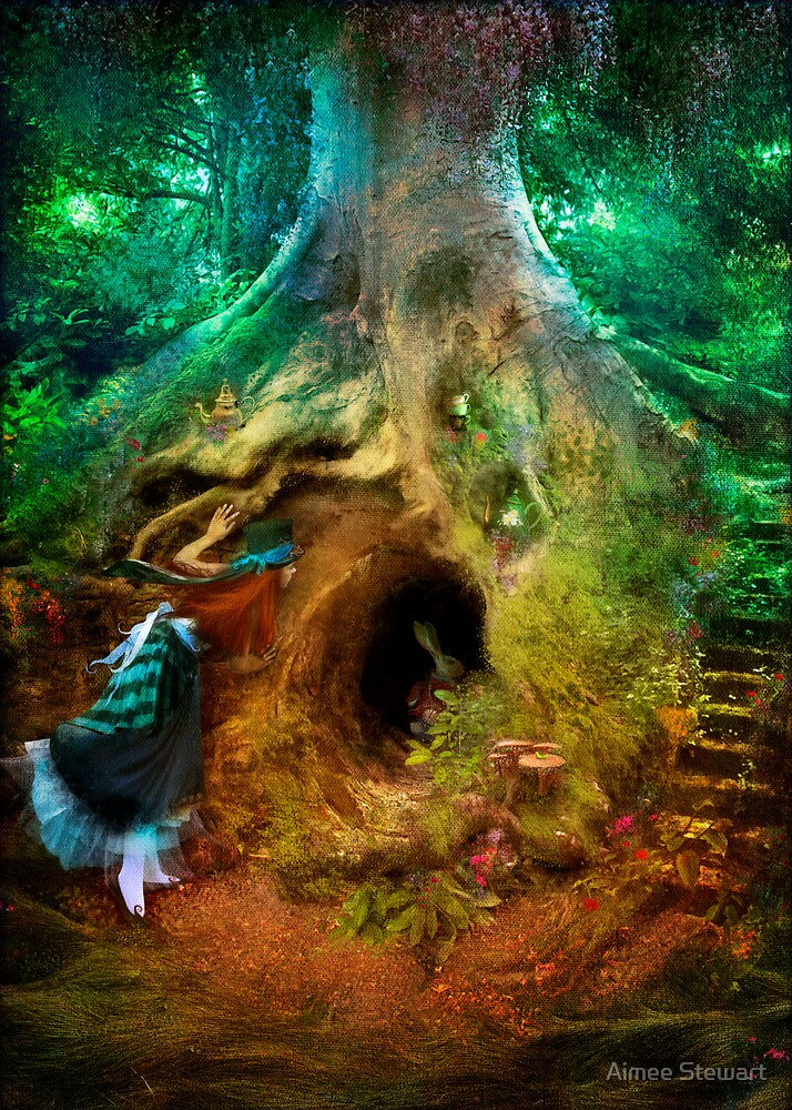 Image result for down the rabbit hole