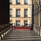 Paris - Café Madeleine by Jean-Luc Rollier