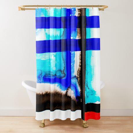 BAANTAL / Lines #5 Shower Curtain