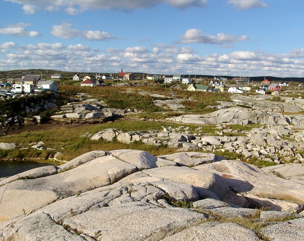 Peggy's Cove-A Different View by George Cousins