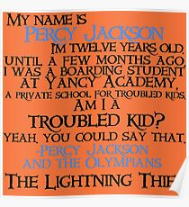 """""""Am I a troubled kid? Yeah. You could say that"""" Quote Poster"""