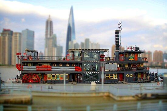 Pocket China - Toy boat by Nicolas Noyes