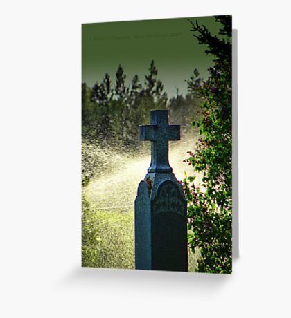Different Kind of Tears Greeting Card