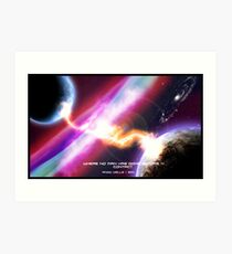 Where No Man Has Gone Before 4 - Contact Art Print