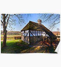 Pendean Farmhouse - Weald & Downland Poster