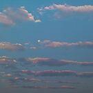 Cloud streets at Moonrise by Odille Esmonde-Morgan