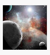 Fabric of space Photographic Print