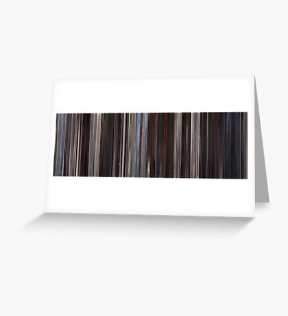 Moviebarcode: American Beauty (1999) Greeting Card