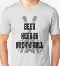 Beer Kebabs Rock'n'roll Unisex T-Shirt