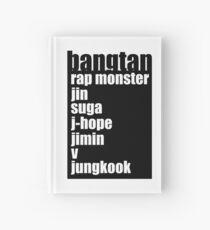 BTS/Bangtan Boys + Names Hardcover Journal