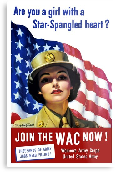 Join The WAC Now -- Army Recruiting by warishellstore