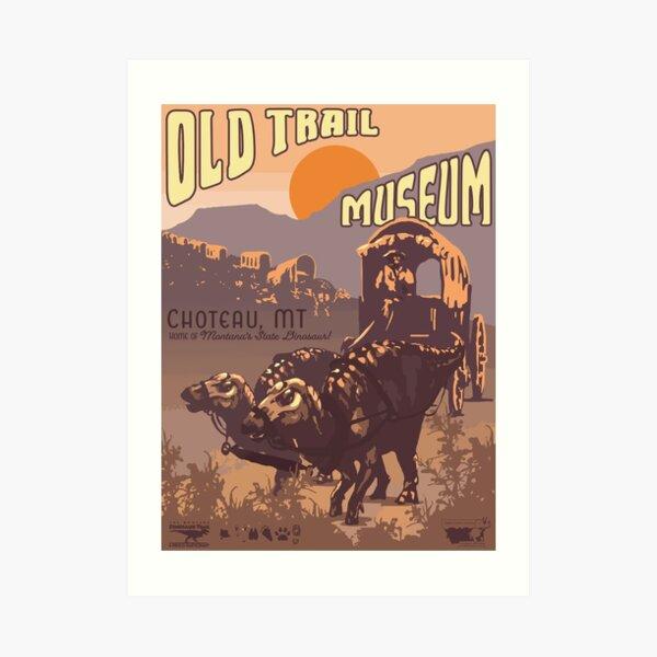 Old Trail Museum Art Print