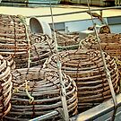 Lobster Pots by wallarooimages