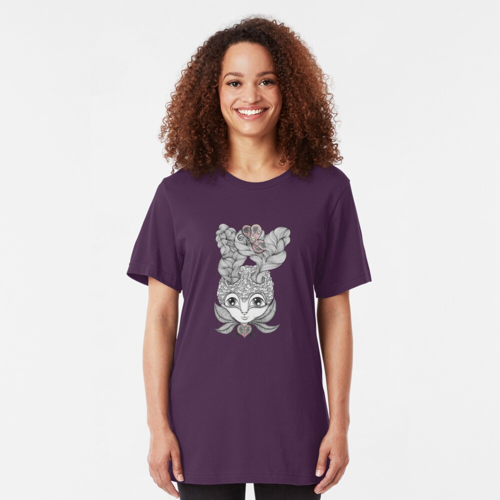 Lady Antelope Slim Fit T-Shirt