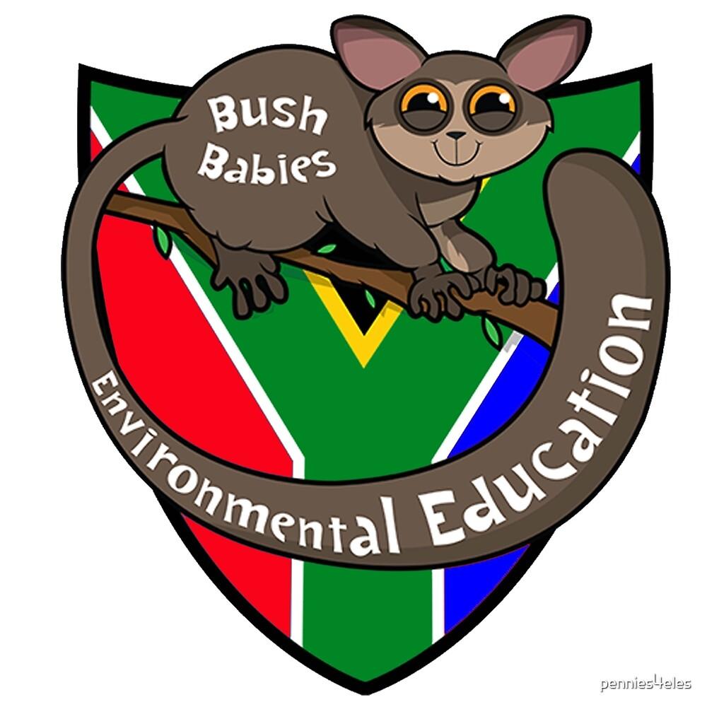 Bush Babies Logo by pennies4eles
