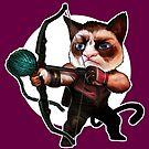 HAWKEYE CAT by Corbella