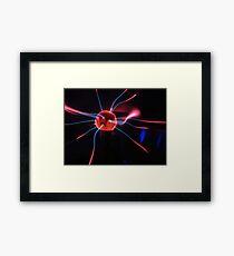 Tesla Ball Framed Print