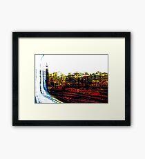 Railway Ruins Framed Print