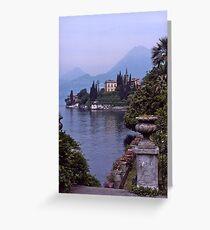 Villa Monastero, Varenna, Lake Como, Italy. Greeting Card