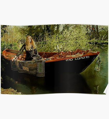Lady of Shalott Poster
