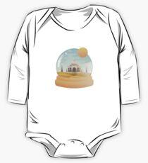 Sand Globe Long Sleeve Baby One-Piece