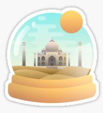 Sand Globe Sticker