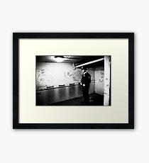 met police man london Framed Print
