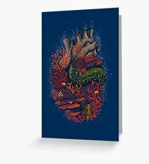heart of the sea Greeting Card