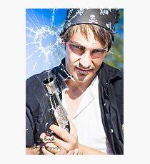 Theme: Evil Pirate Photographic Print