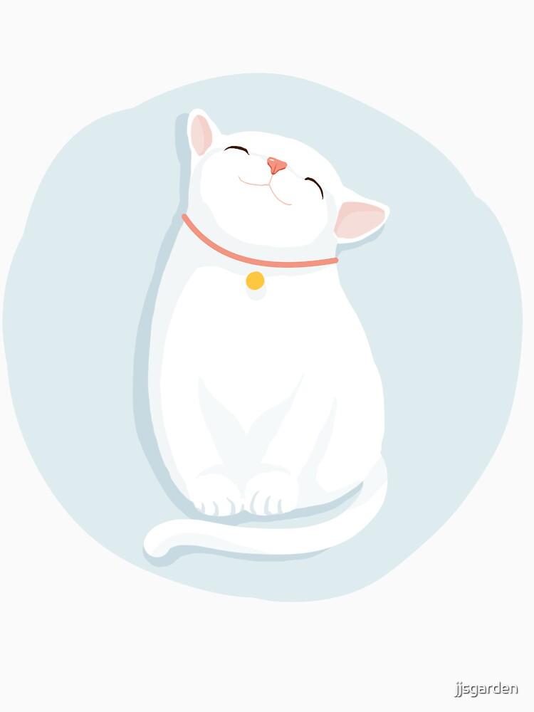 Cat White by jjsgarden