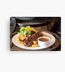 Rump Steak Canvas Print