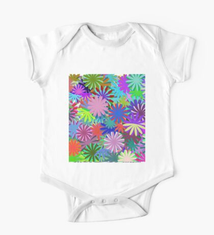 Meadow of Colorful Daisies Kids Clothes