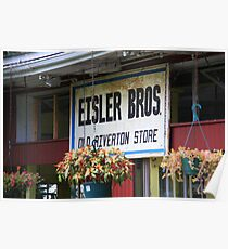 Route 66 - Eisler Brothers Old Riverton Store Poster