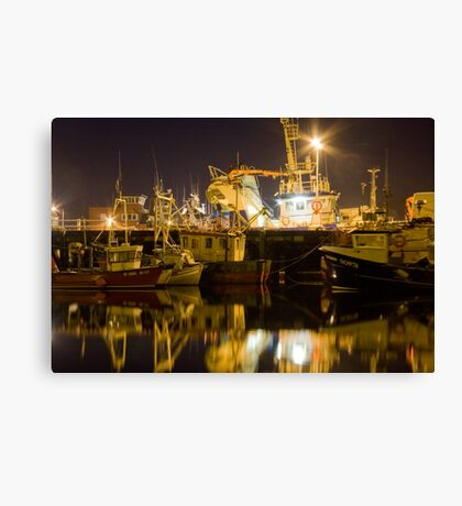 killybegs at night Canvas Print