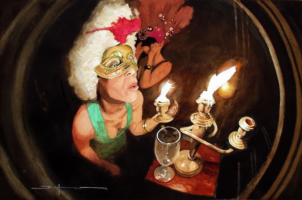 Masked Ball #1 by Douglas Hunt