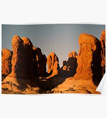 Red Rock Uprise Poster