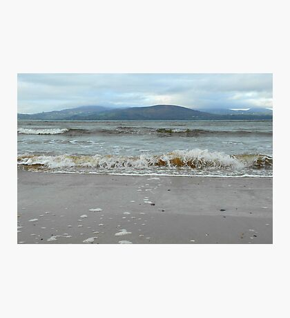 At the ocean's edge... Photographic Print