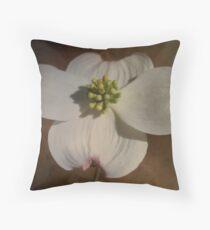 Dogwood Throw Pillow