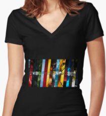 CSGO Teams Design Women's Fitted V-Neck T-Shirt