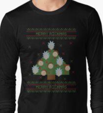 Merry Rickmas (Rick & Morty) Long Sleeve T-Shirt