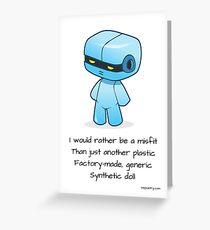 Misfit Greeting Card