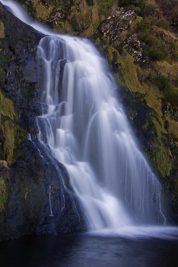 waterfall waterfall by conalmcginley