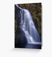 waterfall waterfall Greeting Card